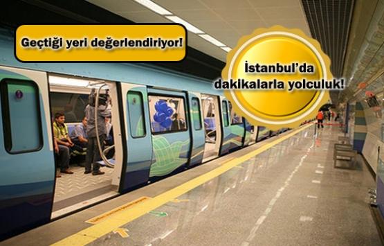İstanbul'da yeni açılacak metro hatlarıyla dakikalarla yolculuk!