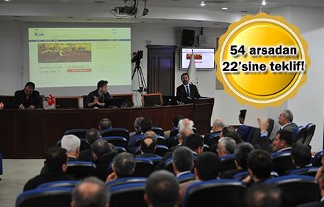 TOKİ'nin arsaları 163.6