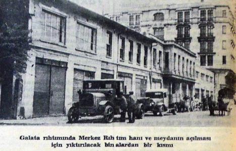 1937 yılından Galata