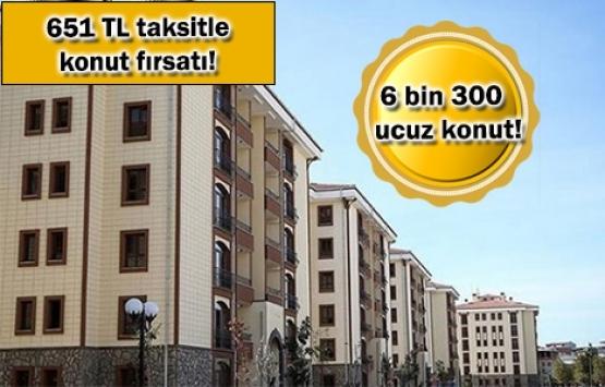 TOKİ'den İstanbul'da 5 kampanya!