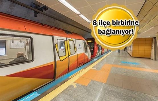 Mecidiyeköy-Mahmutbey metro hattı