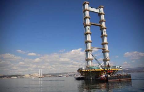 İzmit Körfez Geçiş Köprüsü 120 metreyi aştı!