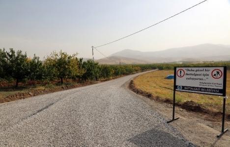 Malatya Battalgazi'de yollar