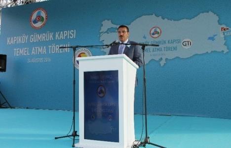 Van Kapıköy Gümrük Kapısı'nın temeli atıldı!
