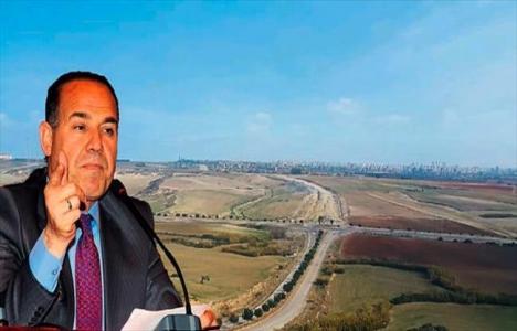 Adana'da 950 hektarlık