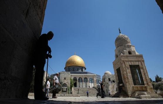 Mescid-i Aksa'da 'Yahudilere