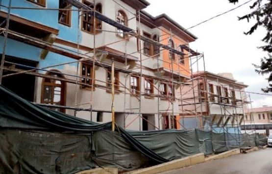 Tarihi Bursa Evleri'nin inşaatında sona gelindi!