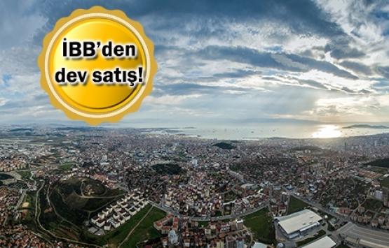 İBB 5 arsasını 283.2 milyon TL'ye satıyor!