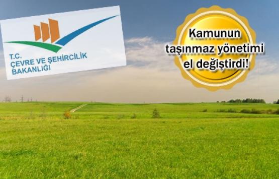 Milli Emlak, Çevre ve Şehircilik Bakanlığı'na bağlandı!