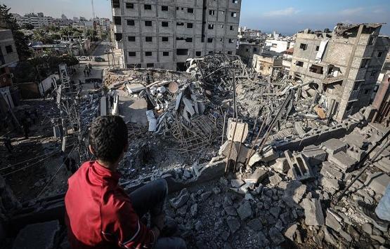 Gazze'de yıkım