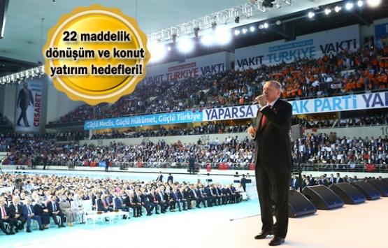 AK Parti sosyal konut yatırımlarına devam edecek!
