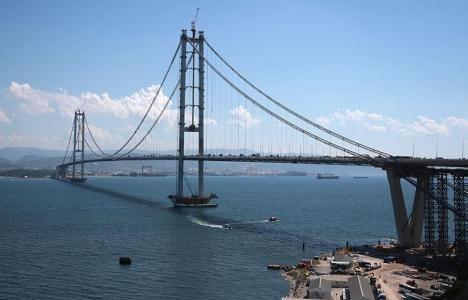 Osmangazi Köprüsü açılış için gün sayıyor!