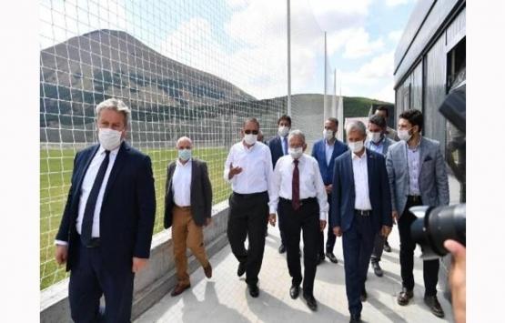 Erciyes Yüksek İrtifa Kamp Merkezi'nin inşaatında sona gelindi!