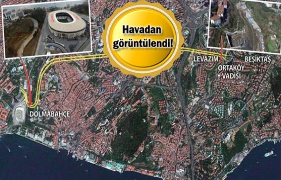 Dolmabahçe-Levazım tünelinde son durum!