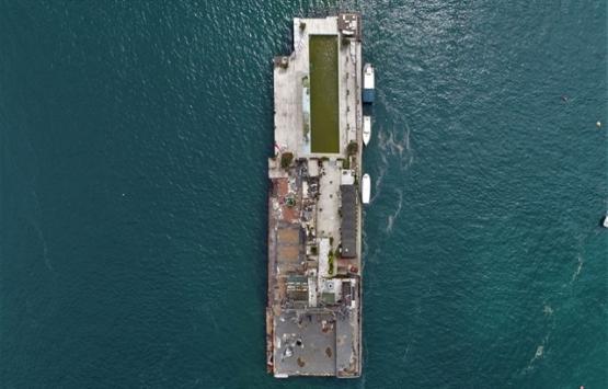 Galatasaray Adası'nın yıkım sonrası son hali!