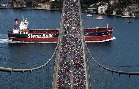 İstanbul Maratonu nedeniyle