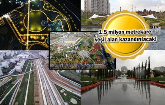 İstanbul'daki 5 büyük millet bahçesi yarın açılacak!