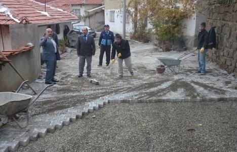Bayat Belediyesi alt ve üst yapı çalışmaları yapıyor!