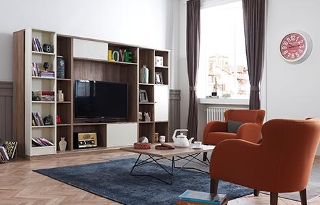 İder Mobilya, dar alanlar için Akik ikili koltuğu tasarladı!
