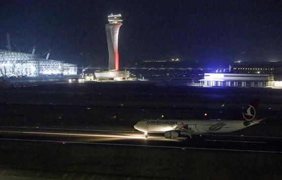 İstanbul Havalimanı'nın ilk