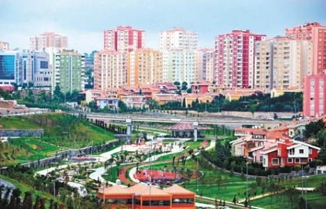 Başakşehir'de konut projeleriyle