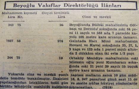 1947 yılında Beyoğlu'nda