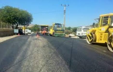 Muğla'da sıcak asfalt çalışmaları başladı!
