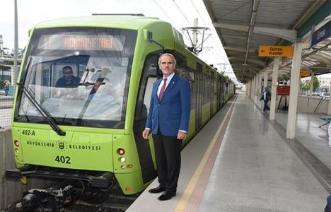 Bursaray'da 162 vagon olacak!