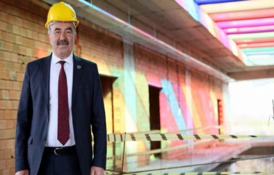 Zübeyde Ana Çocuk Akademisi'nin kaba inşaatı bitti!