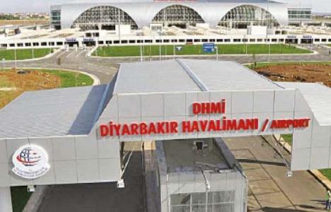 Diyarbakır Havalimanı'ndan ilk