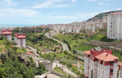Trabzon'daki konut stokunun