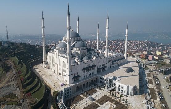 Çamlıca Camisi'nin açılışına