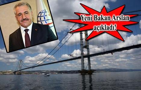 Osmangazi Köprüsü'nün geçiş
