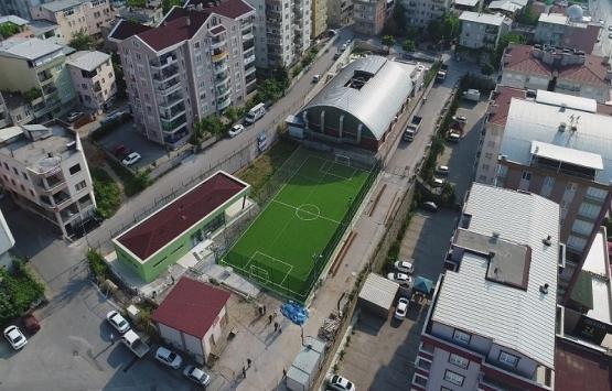 Bursa Yıldırım'a iki yeni spor tesisi inşa edildi!
