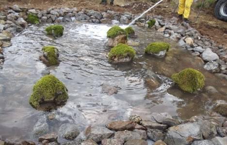 Mersin'de ormanlık alanlara 96 can suyu havuzu yapıldı!