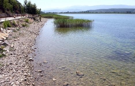 Sapanca Gölü'nde su
