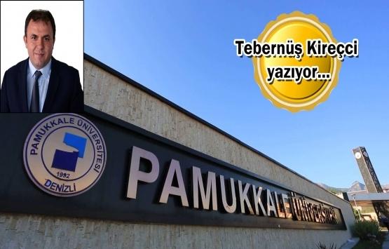 Tek sorun Pamukkale Üniversitesi rektörü mü?