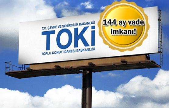 TOKİ 130 iş yeri ve 91 konutu satışa çıkardı!