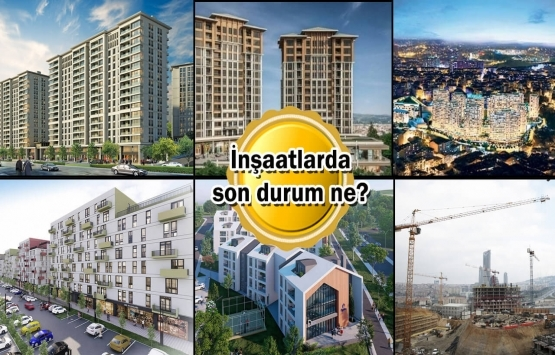 KİPTAŞ'ın inşaatı devam eden 6 projesi!