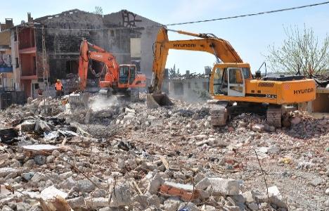 Kentsel dönüşümde yıkılan