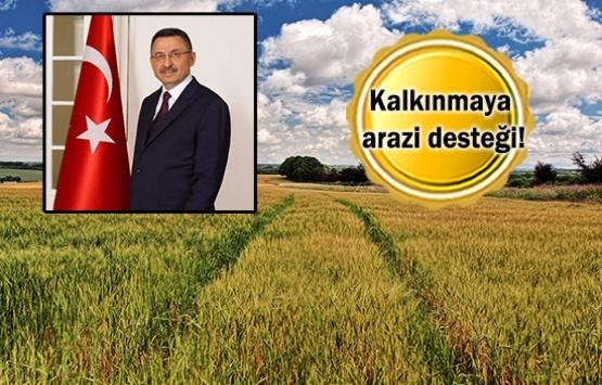 Cumhurbaşkanlığı'ndan köylülere arazi desteği!