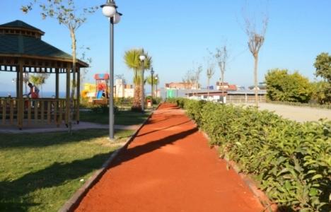 Kuşadası Tarık Akan Parkı tamamlandı!