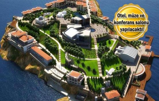 Mesa'nın Yassı Ada'daki inşaatı durdu!