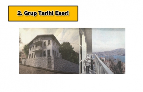 Emirgan'daki tarihi Hamdi Paşa Köşkü 3 milyon dolara satılıyor!