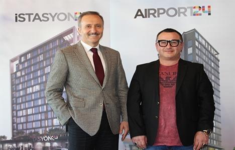 Airport 24 ve İstasyon 24 projesi satışa çıktı!
