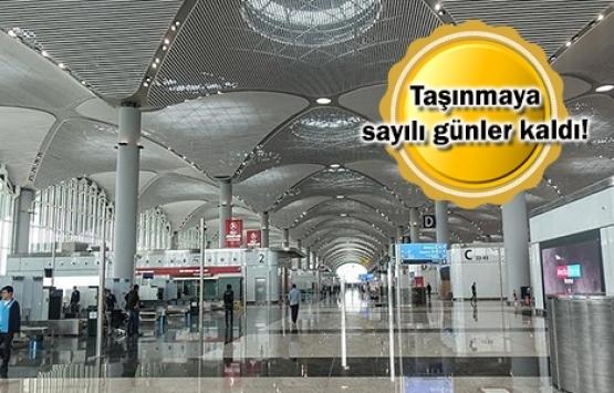 THY'nin İstanbul Havalimanı'na