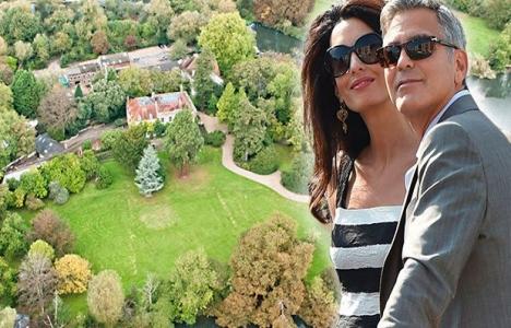 George Clooney'nin Londra'daki