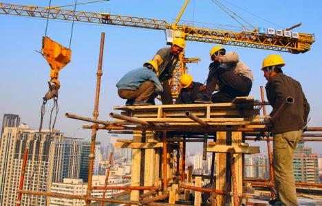 Almanya'da inşaat üretimi