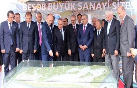 TOKİ Bursa'ya 15