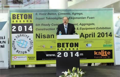Beton Ankara 2014 Fuarı açıldı!